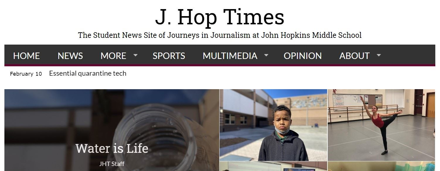 New Website: jhoptimes.com